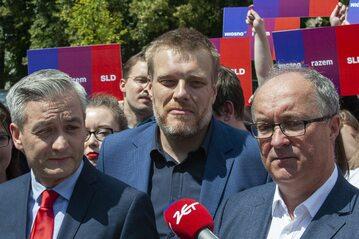 Robert Biedroń, Adrian Zandberg, Włodzimierz Czarzasty