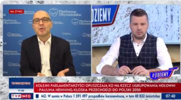 Robert Kropiwnicki i Michał Rachoń