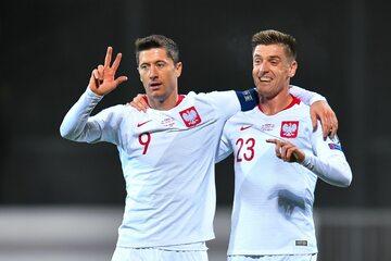 Robert Lewandowski i Krzysztof Piątek