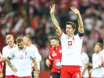 Robert Lewandowski po meczu z Anglią