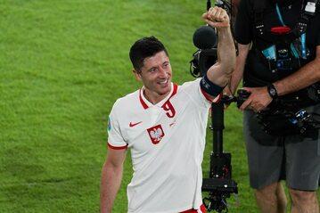 Robert Lewandowski po meczu z Hiszpanią