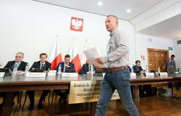 Robert Migros przed komisją weryfikacyjną