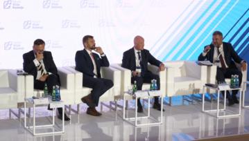 Robert Perkowski, Wiceprezes Zarządu PGNiG SA ds. Operacyjnych, podczas Forum Wizja Rozwoju
