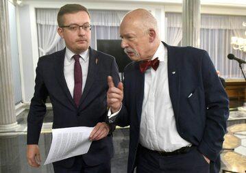 Robert Winnicki i Janusz Korwin-Mikke