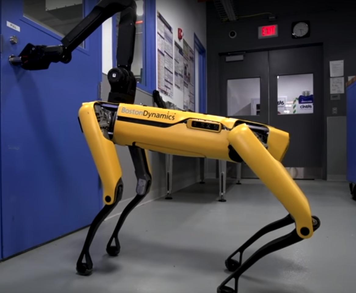 Robot SpotMini firmy Boston Dynamics