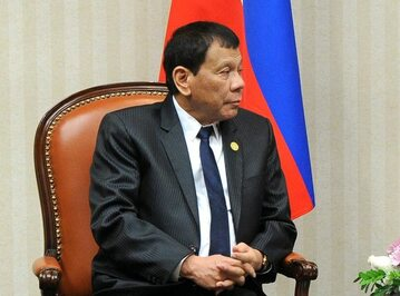 Rodrigo Duterte, prezydent Filipin