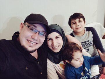 Rodzina Al-Halabich, zdjęcie opublikowane 25 stycznia na Twitterze