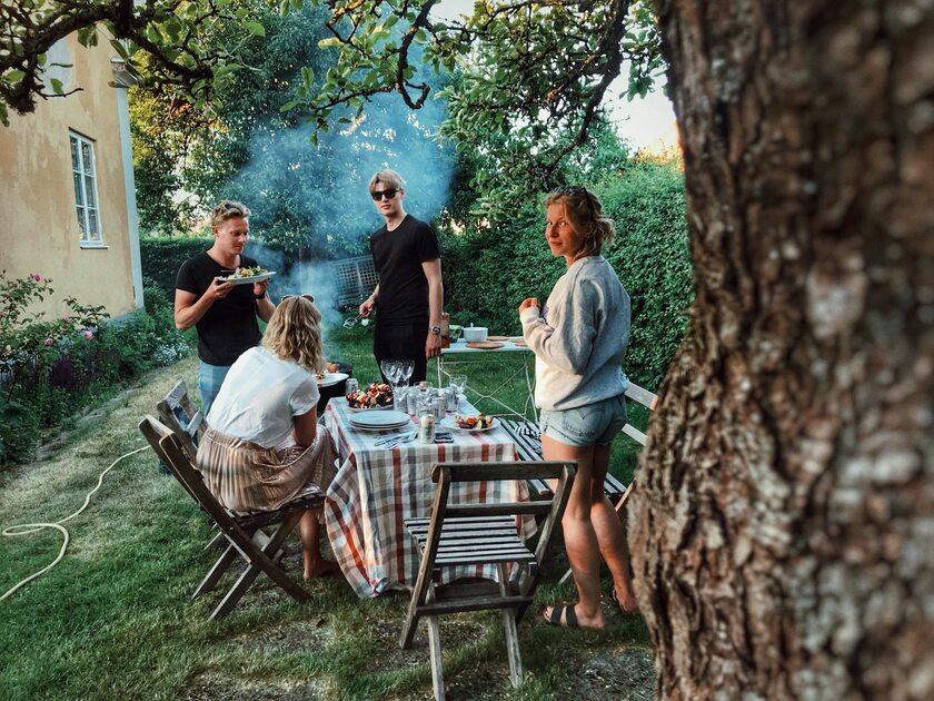 Rodzinne grillowanie