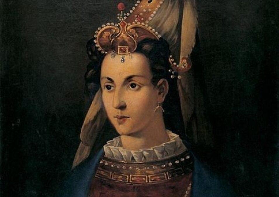 Roksolana na anonimowym portrecie z XVIII wieku