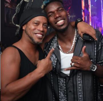 Ronaldinho i Paul Pogba
