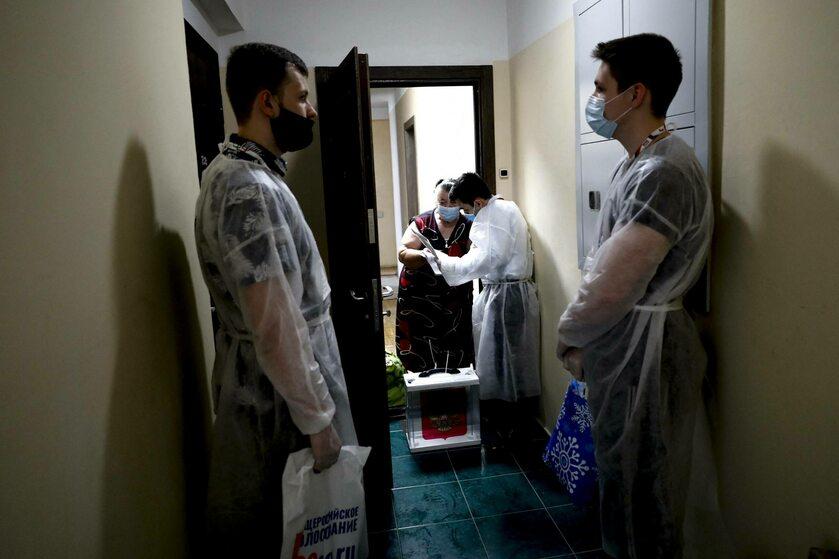 Rosjanie w czasie pandemii koronawirusa