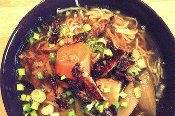 Rosół z pieczonej kaczki w azjatyckim stylu