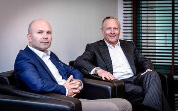 Ross Perot Jr i Maciej Jankiewicz