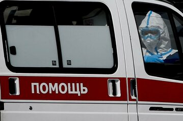 Rosyjska karetka w czasie koronawirusa