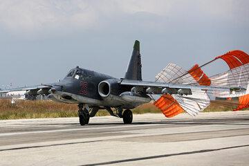 Rosyjski samolot SU-25