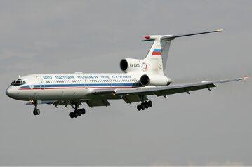 Rosyjski samolot Tu-154 M