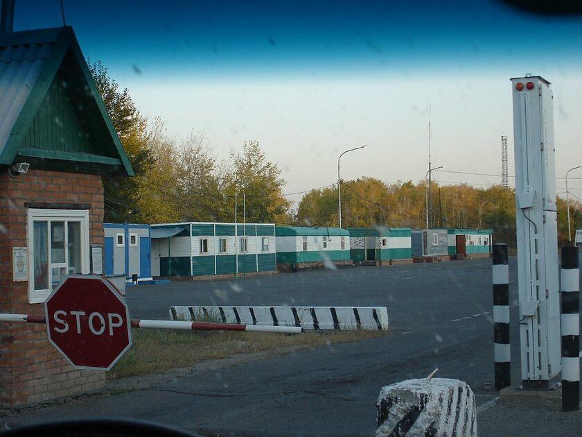 Rosyjskie przejście graniczne, zdjęcie ilustracyjne