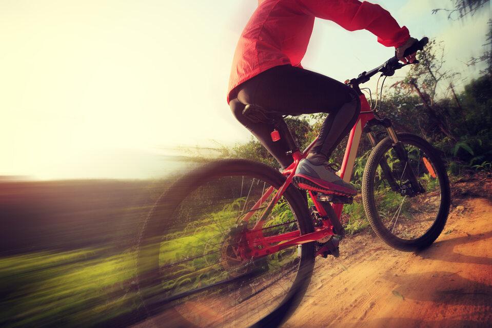 Rowerzysta, zdjęcie ilustracyjne