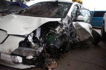 Rozbite auto