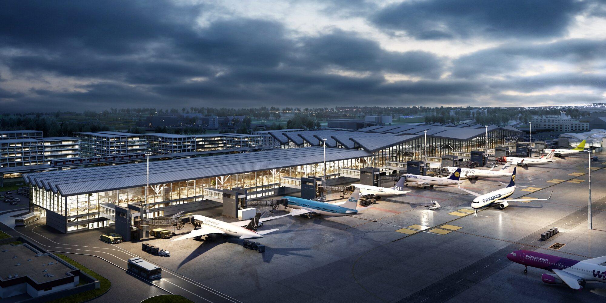 Rozbudowa terminalu