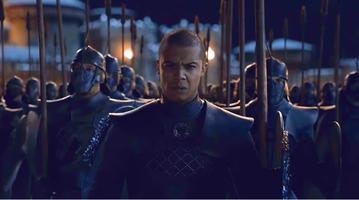 """Rozjaśniony kadr z """"Gry o tron"""""""