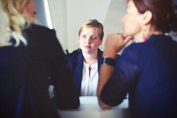 Rozmowa w pracy