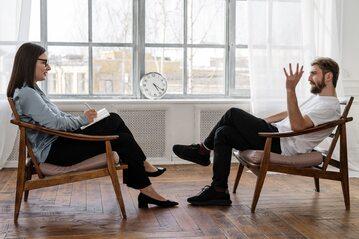 Rozmowa z terapeutą