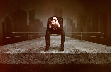 Rozpacz, bankructwo (zdj, ilustracyjne)