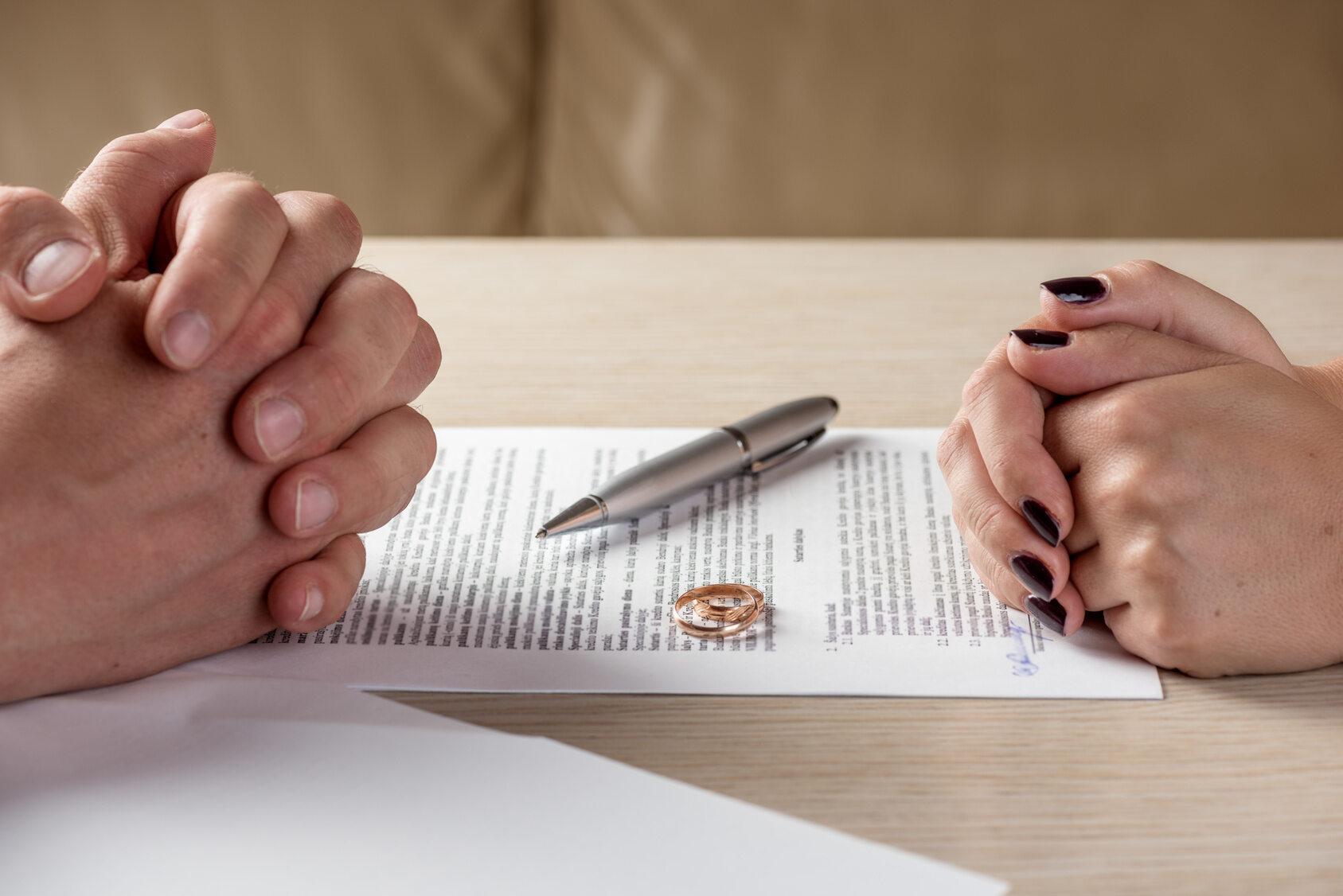 Rozwód, zdjęcie ilustracyjne