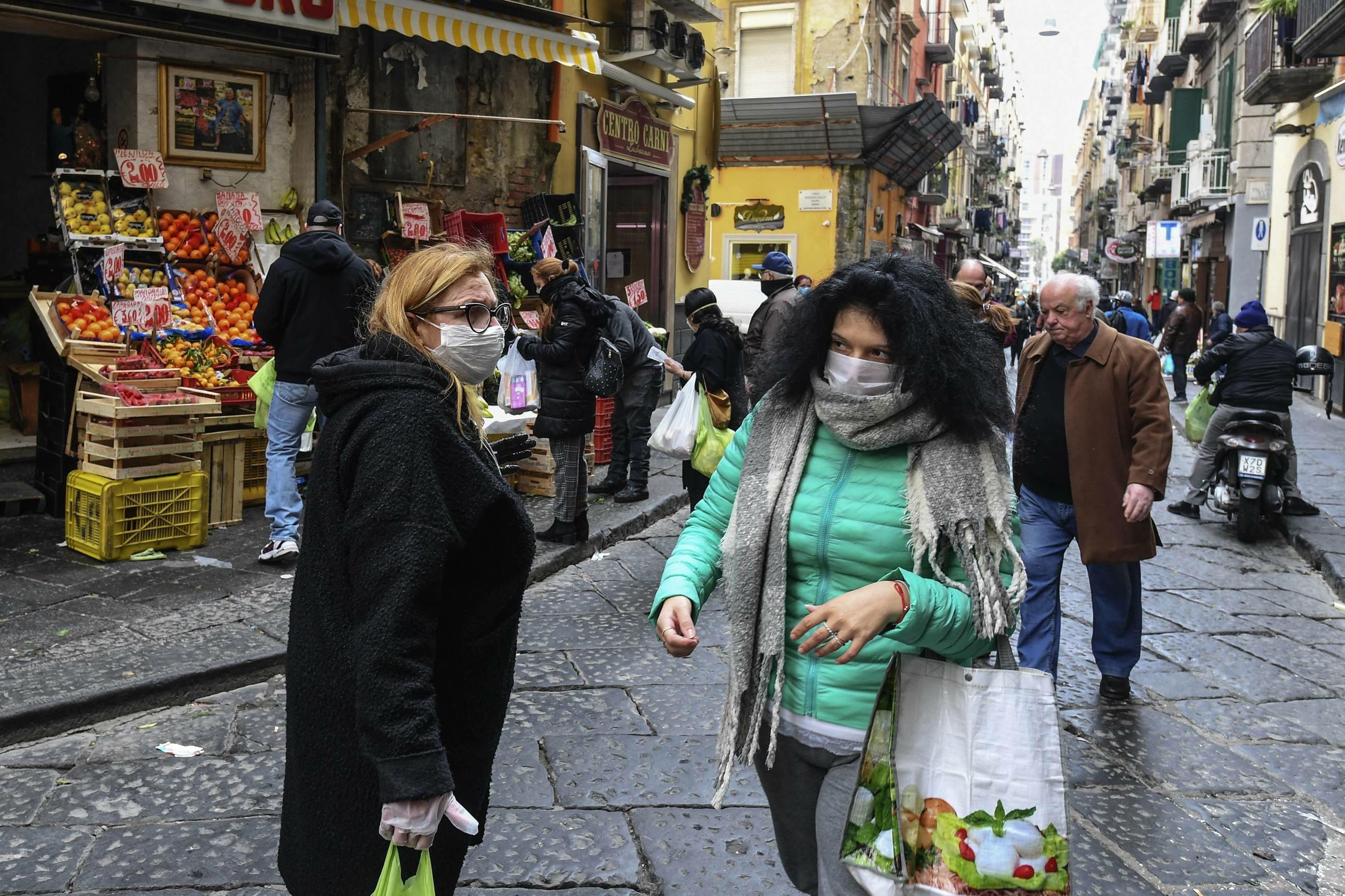 Rynek warzywny w Neapolu