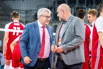 Ryszard Czarnecki i Jacek Kasprzyk