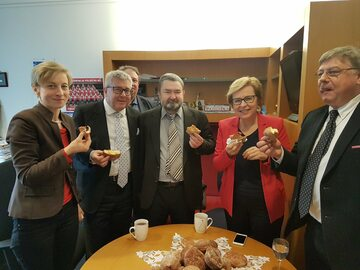 Ryszard Czarnecki świętuje tłusty czwartek