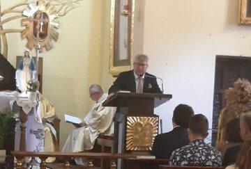 Ryszard Czarnecki w kościele