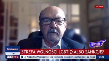 Ryszard Legutko w TVP Info