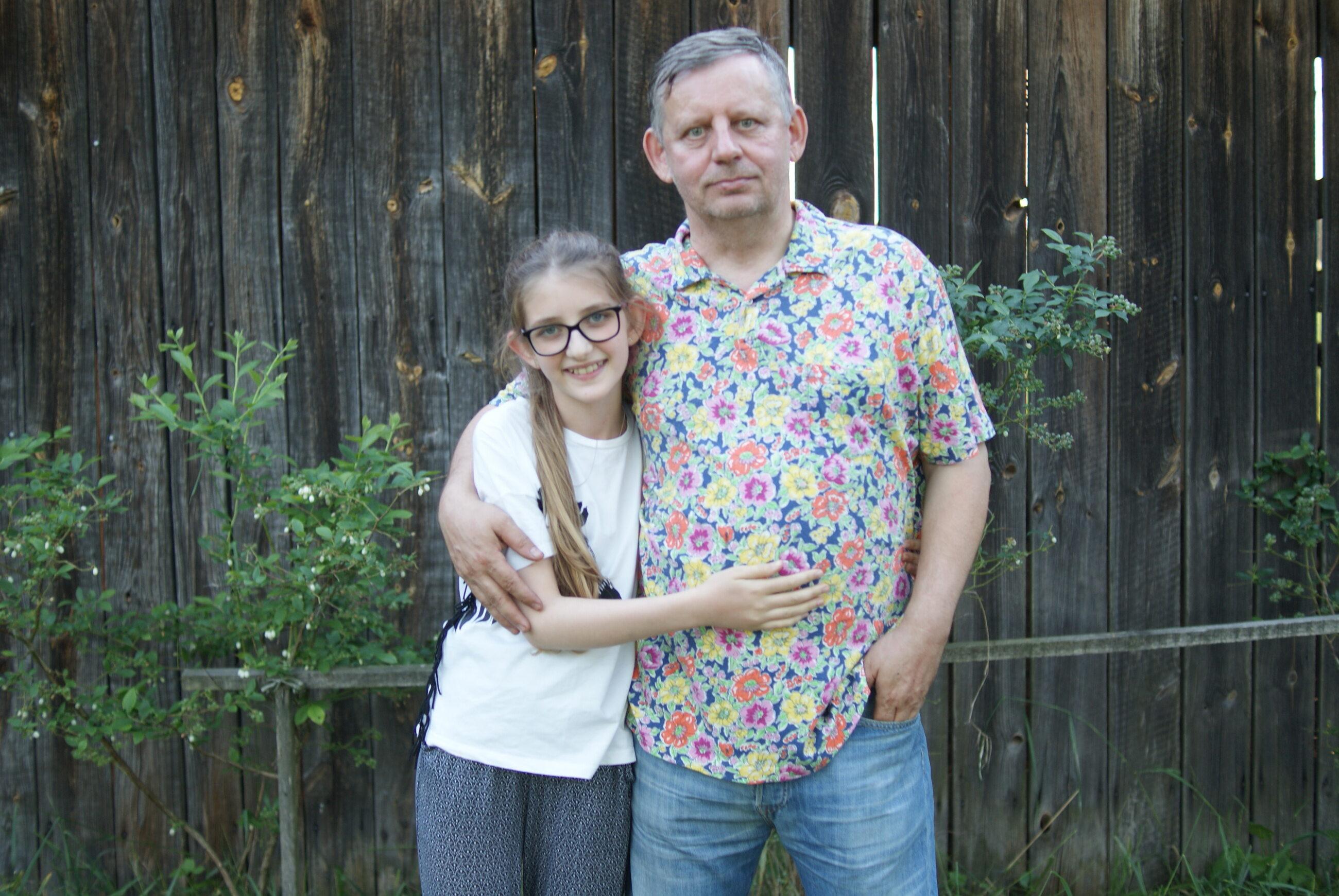 Ryszard Lubliński i jego córka, Honorata, do dziś lecza się po wypadku, który spowodował syn ambasadora