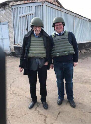 Ryszard Terlecki i Tomasz Rzymkowski na Ukrainie
