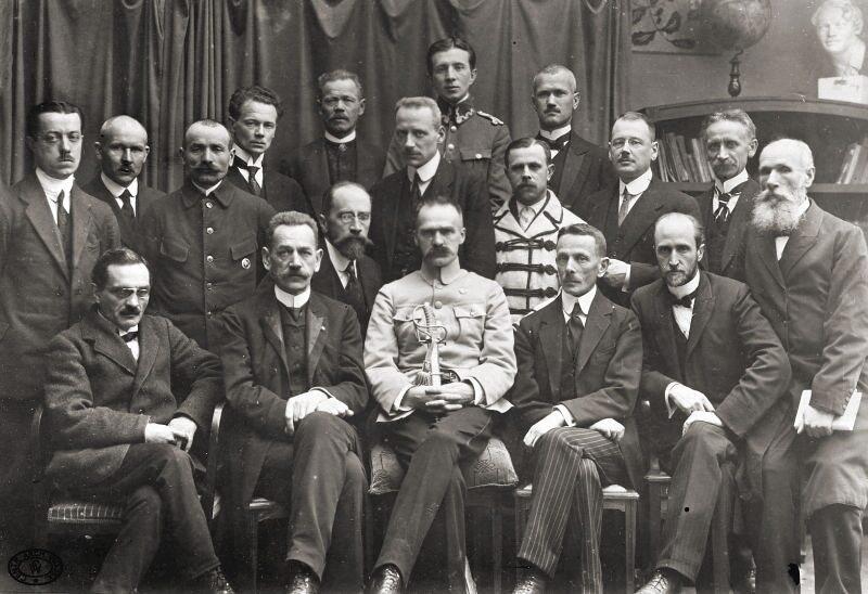 Rząd Moraczewskiego zaprzysiężony 18 listopada 1918 r.