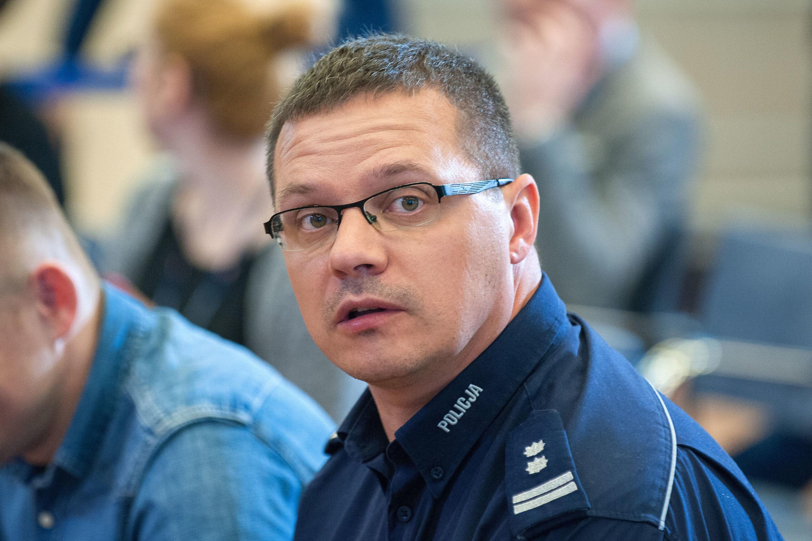 Rzecznik KGP Mariusz Ciarka