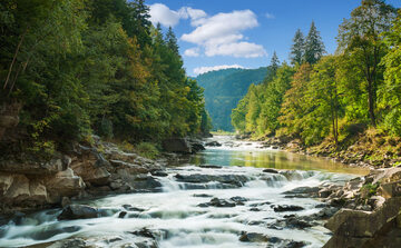 Rzeka, zdjęcie ilustracyjne