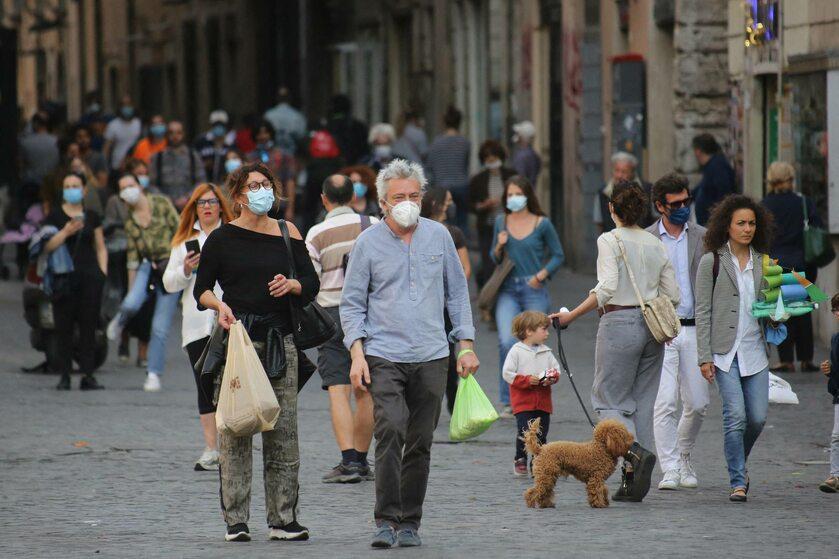 Rzym w pierwszy weekend po poluzowaniu ograniczeń
