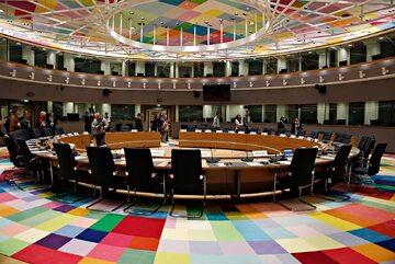 Sala obrad Rady Unii Europejskiej