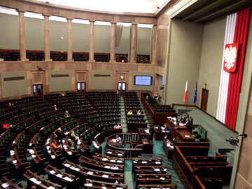 Sala obrad Sejmu RP