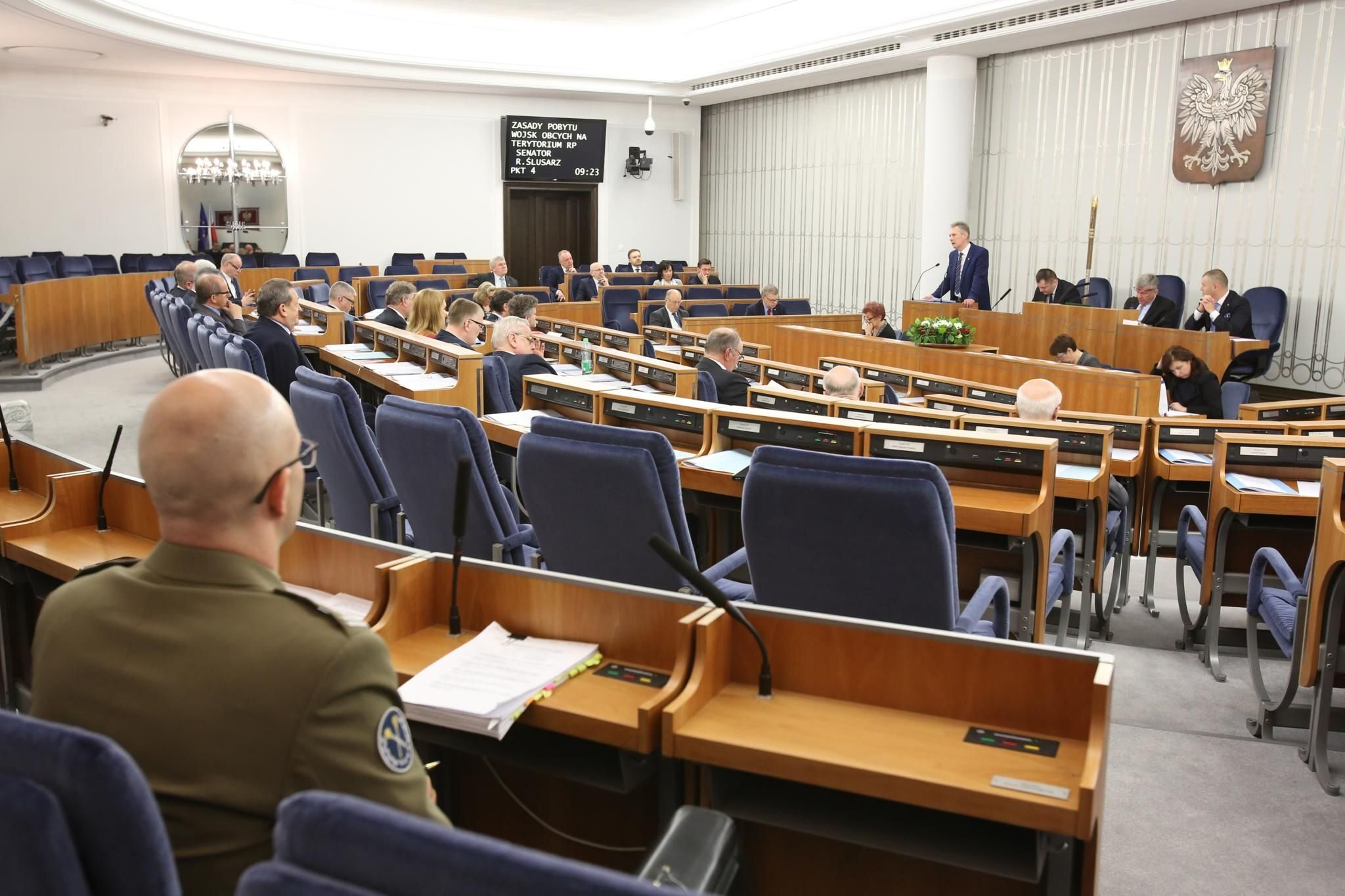 Sala obrad Senatu RP