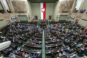 Sala plenarna Sejmu, zdj. ilustracyjne