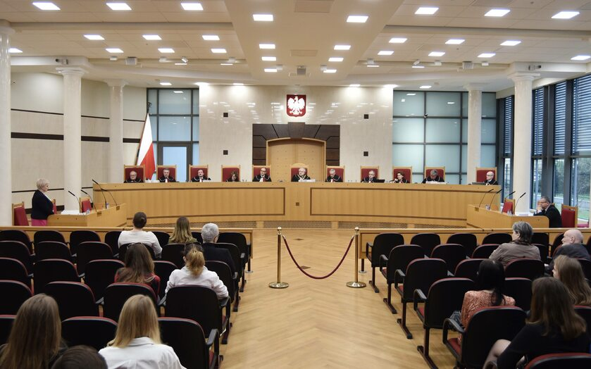 Sala posiedzeń Trybunału Konstytucyjnego