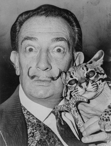 Salvador Dali w 1960 roku