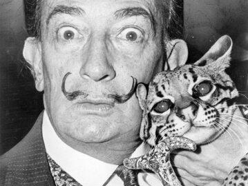 Salvador Dali, zdjęcie z roku 1965