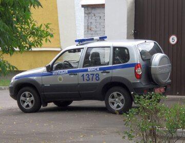 Samochód białoruskiej milicji (zdj. ilustracyjne)