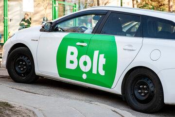 Samochód firmy Bolt