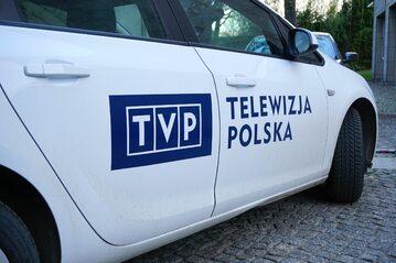 Samochód TVP, zdjęcie ilustracyjne